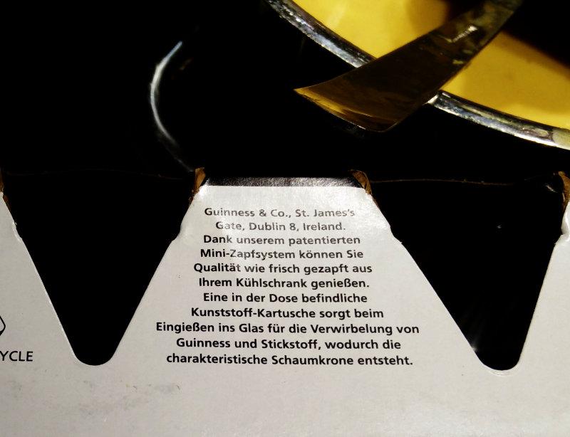 Guinness Mini Kühlschrank : Wer lesen kann u2026 « strempfer bloggt
